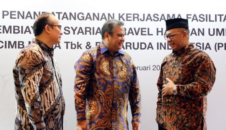CIMB Niaga dan Garuda Indonesia Jalin Kemitraan Pembiayaan Syariah - Warta Ekonomi