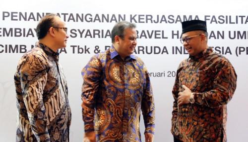 Foto CIMB Niaga dan Garuda Indonesia Jalin Kemitraan Pembiayaan Syariah