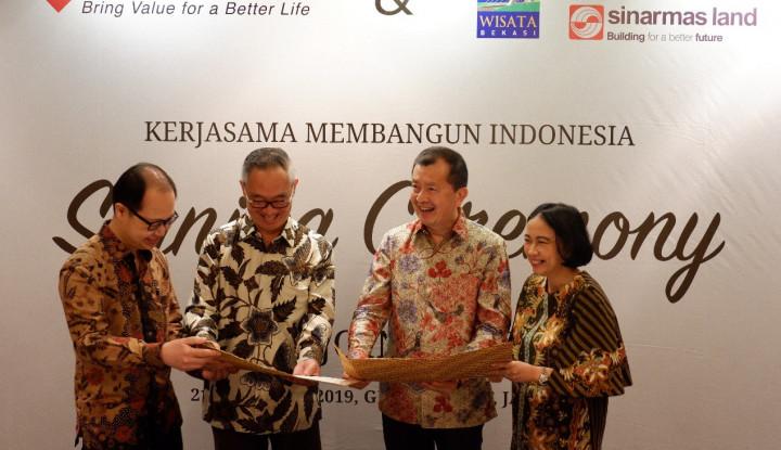 Bangun Shopping Mall di Bekasi, Sinar Mas Land Alokasikan Nilai Investasi Rp900 Miliar - Warta Ekonomi