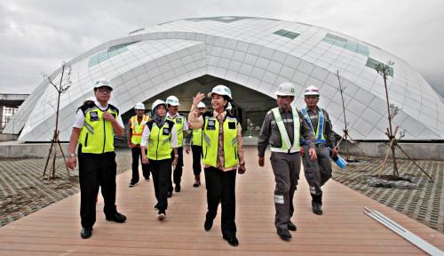 Foto Pengerjaan Bandara NYIA Hampir Rampung, Ini Pesan Rini Soemarno...