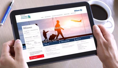 Foto Allianz Gandeng Standard Chartered Pasarkan Asuransi Perjalanan