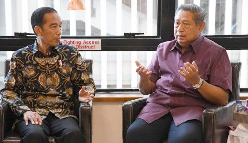 Foto Jokowi Menang, SBY Tentukan Sikap