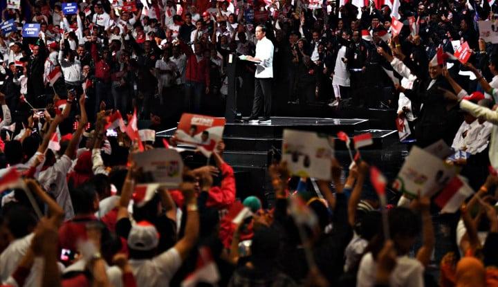 Via Vallen Tutup Pidato Kebangsaan Capres Jokowi - Warta Ekonomi