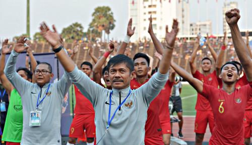 Foto Alhamdulillah, Timnas U-23 Mainnya Pas, Indra Sjafri Puas