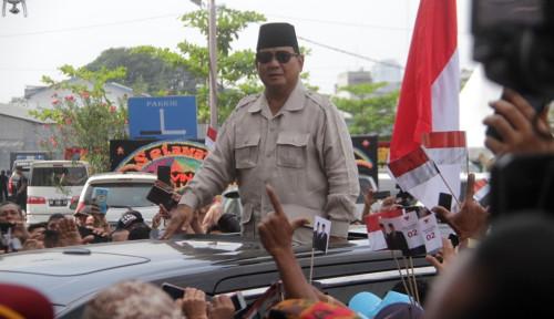 Foto Prabowo ke Medan, Pendukung Tak Terbendung