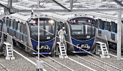 Foto Ongkos Bangun LRT dan MRT Lebih Murah, Kata Menhub