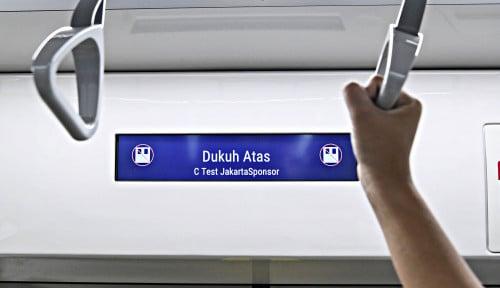 Foto Siap Pak Anies: MRT Wajibkan Penumpang  Pakai Masker