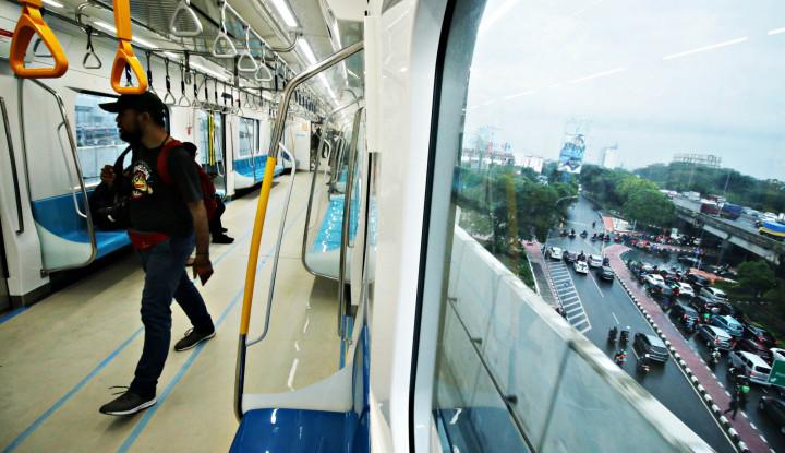 Dear Pengguna MRT, Ada Pesan Nih dari Pak Jokowi - Warta Ekonomi