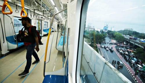 Foto MRT, Peluang Pemerintah Ratakan Kepadatan Penduduk