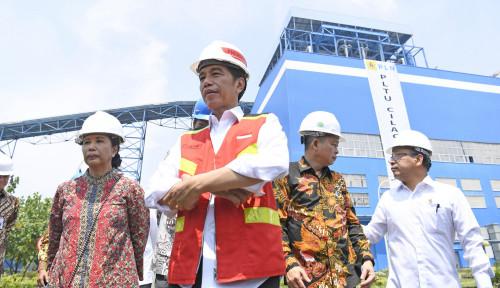 Foto Jokowi Tunggu Pemilik Konsensi Kembalikan Lahan Besar