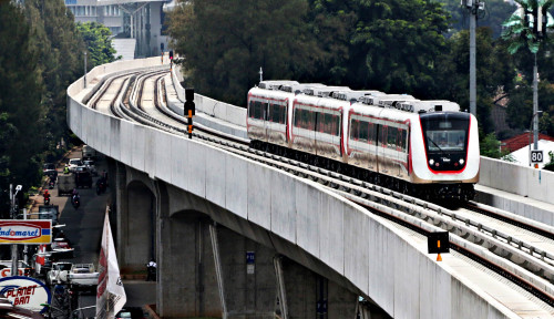 Foto Sebentar Lagi Tancap Gas, Segini Tarif LRT
