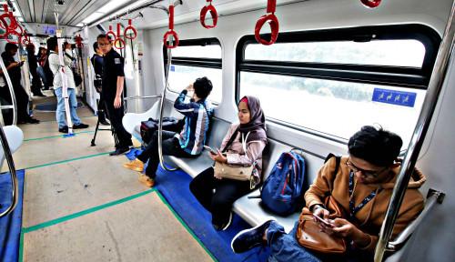 Foto LRT Jakarta Sepi, Demokrat Bilang: Proyek Gagal, Dulu Gak...