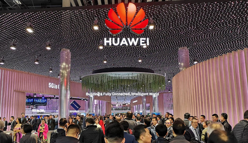Foto Huawei Beri Gertakan ke India Soal Jaringan 5G