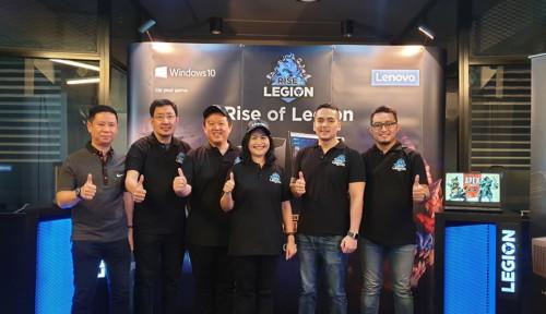 Foto Serius Garap E-Sports, Lenovo Helat Rise of Legion di Berbagai Kota