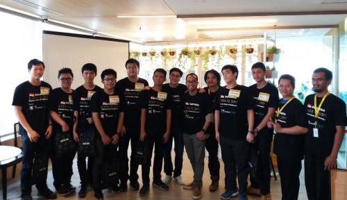 Foto Go-Jek Dukung Perwakilan Indonesia di Romanian Master of Mathematics Ke-11