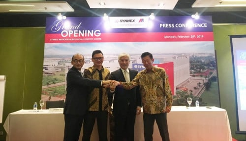 MTDL Volume Dagang Terus Naik, Synnex Metrodata Indonesia Resmikan Logistic Center Senilai Rp120 Miliar