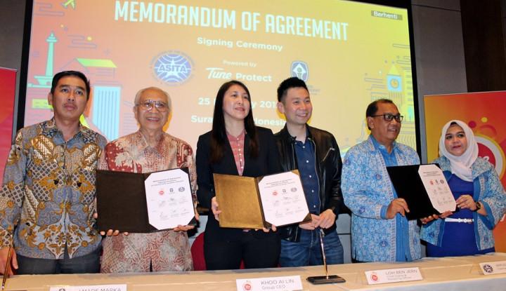 Sah!! Tune Protect Resmi Gandeng ABI dan ASITA Jatim Jamin Asuransi Wisata Digital - Warta Ekonomi