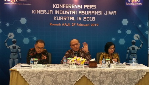 Foto Kuartal IV 2018, Pendapatan Asuransi Jiwa Turun 19,4%