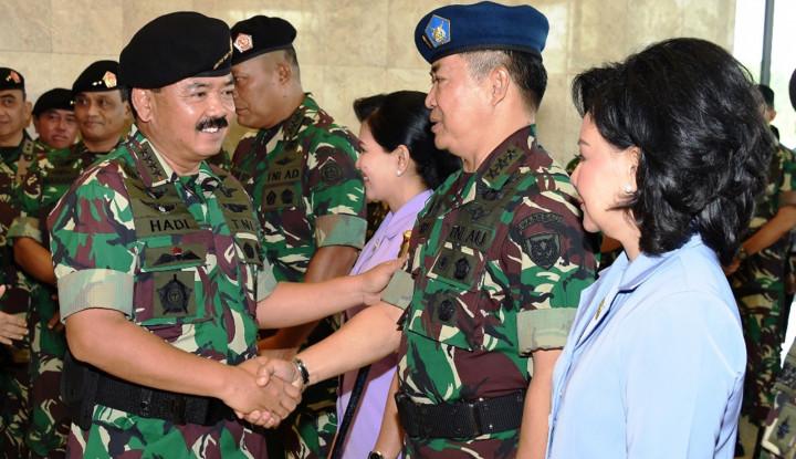 35 Pati TNI Naik Pangkat, Berikut Daftar Lengkapnya - Warta Ekonomi