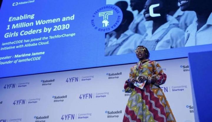 Kerja Sama dengan Alibaba Cloud, iamtheCODE Targetkan Sejuta Perempuan Kuasai Teknologi - Warta Ekonomi