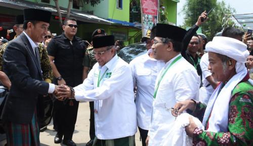 Foto Buka Munas Alim Ulama-Konbes NU, Jokowi Janjikan Hal Ini ke Warga Nahdliyin
