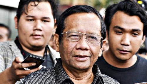 Foto Gugatan Prabowo Cs Diterima MK, Mahfud: Belum Tentu Dikabulkan