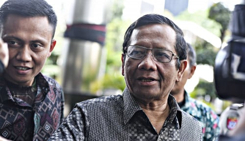 Foto Mahfud MD Minta Prabowo jadi Pemimpin Oposisi di Parlemen