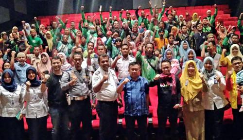 Foto Usai Nobar Keluarga Cemara, Ini Harapan Mitra untuk Gojek Indonesia