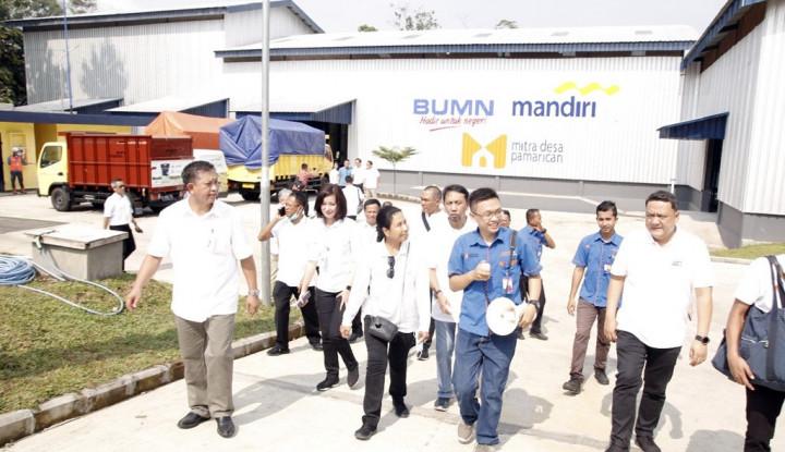 Tinjau Wirausaha Pertanian di Ciamis, Menteri BUMN Klaim Pendapatan Petani Meningkat - Warta Ekonomi
