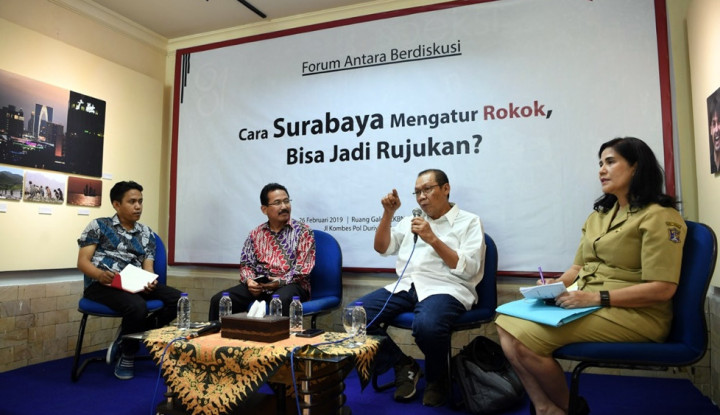 Waduh...Soal Perda KTR di Surabaya Masih Pro dan Kontra - Warta Ekonomi