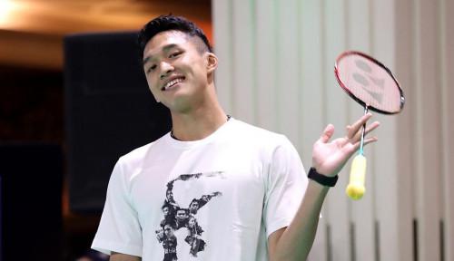 Foto Sukses Melenggang ke Babak Kedua Malaysia Masters 2020, Ini Rahasia Jonatan Christie