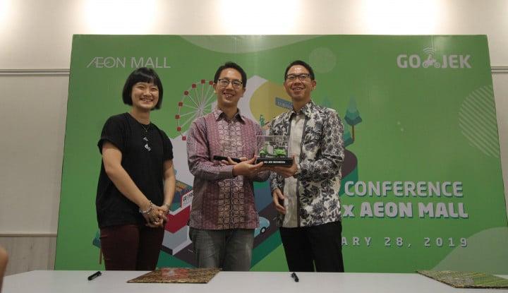 Perkuat Ekosistem, Go-Jek Gandeng AEON Mall Indonesia - Warta Ekonomi