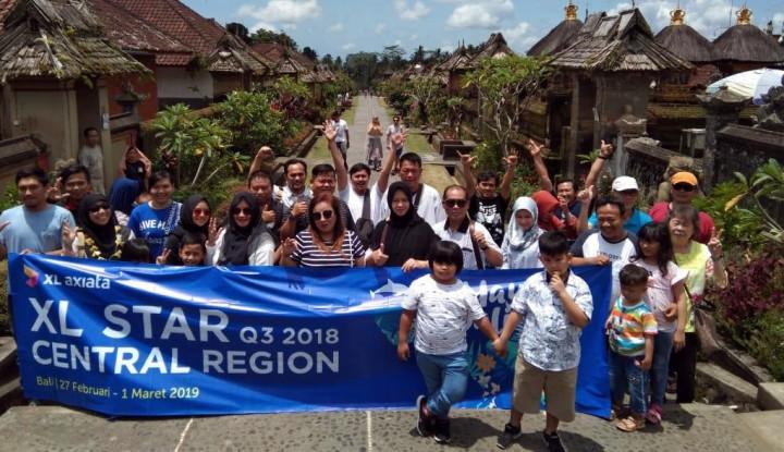 30 Mitra Outlet XL Liburan Gratis ke Bali - Warta Ekonomi