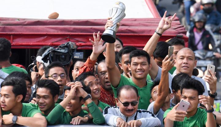 Hore! Timnas Indonesia U-22 Dapat Hadiah dari Jokowi