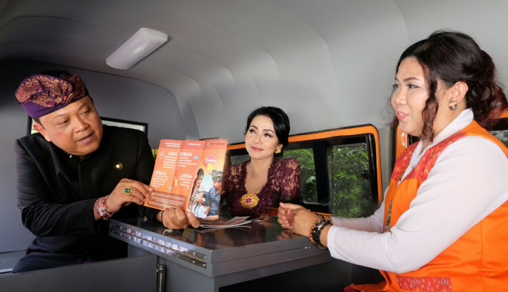 Mobil Konseling Jadi Teman Curhat Warga Denpasar - Warta Ekonomi