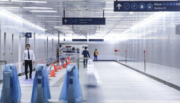 Bayar Tiket MRT Jadi Mudah Pakai JakCard - Warta Ekonomi