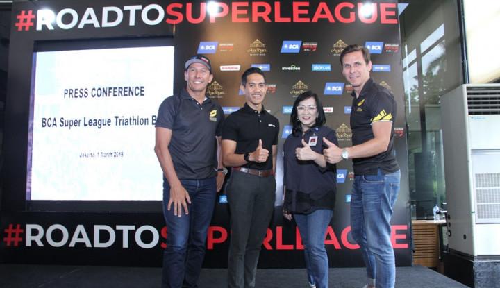 BCA Super League Triathlon Hadir Pertama Kali di Indonesia - Warta Ekonomi