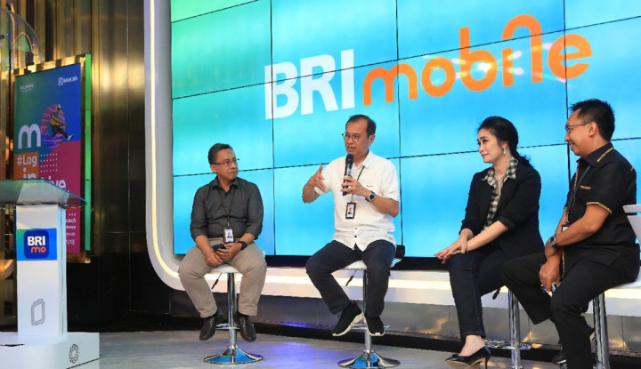 Launching Aplikasi BRImo, BRI Sasar Generasi Millenial - Warta Ekonomi
