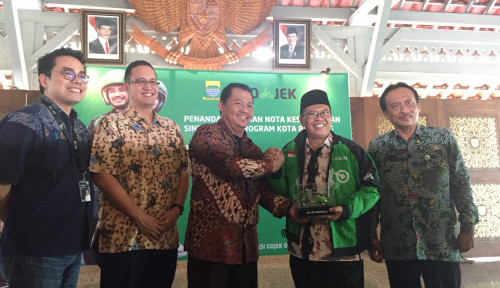 Foto Go-Jek Bersama Pemkot Bandung Perkuat Sinergitas Program Bandung Smart City