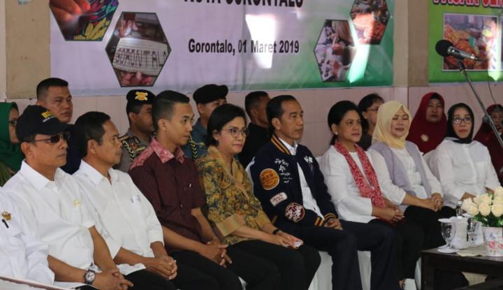 Disaksikan Presiden, Pegadaian Salurkan Kredit UMi di Gorontalo - Warta Ekonomi