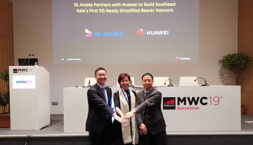 Foto Hadir di MWC 2019 Spanyol, XL Axiata-Huawei Sepakati Kerja Sama Fiberisasi Jaringan