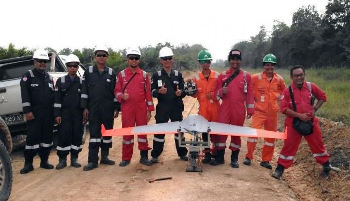 Drone untuk Awasi Aktivitas Ilegal di Kawasan Produksi Migas