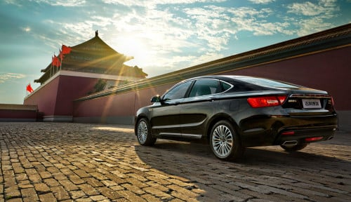 Foto Mercedes-Benz & Geely Bikin Mobil Smart Listrik di China
