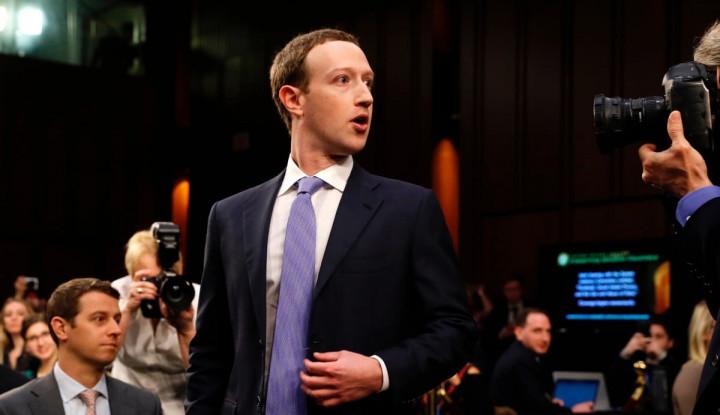 Dianggap Pengkhianat oleh China, Ternyata Bos Facebook Diam-Diam Temui Trump! Bahas Apa Ya? - Warta Ekonomi