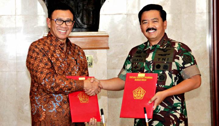 TNI Gandeng BNI Salurkan Gaji Prajurit Secara Nontunai - Warta Ekonomi