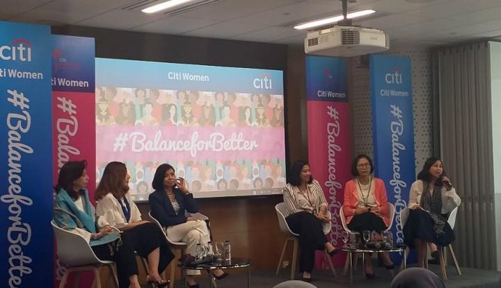 Citibank Indonesia Klaim 50% Jabatan Dipegang Perempuan - Warta Ekonomi