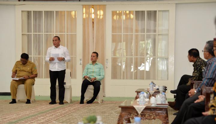 Gubernur Sumut Targetkan Pembangunan Desa Tuntas 2023 - Warta Ekonomi
