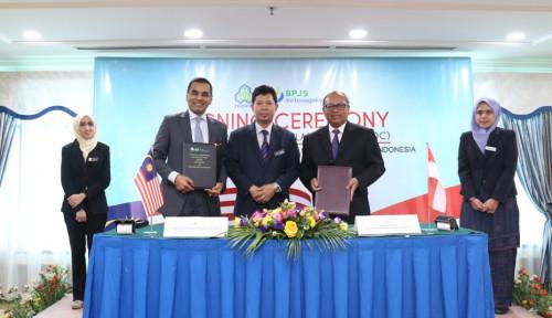 Foto Sepakat Lindungi PMI di Malaysia, BPJS Ketenagakerjaan-SOCSO Jalin Kerja Sama