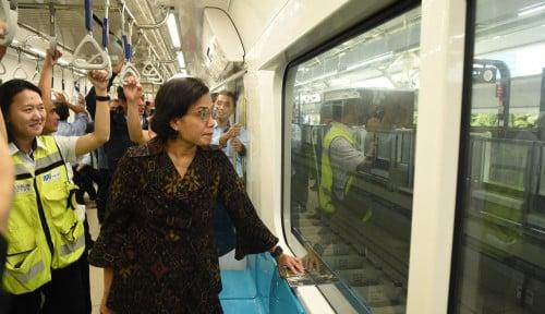 Foto 24 Maret, MRT Beroperasi