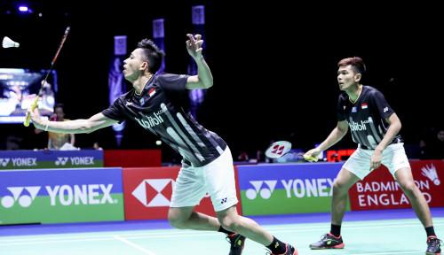 Foto Top, Fajar/Rian Susul Hendra/Ahsan ke Semifinal All England